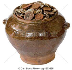 pote de dinheiro do cigano pablo