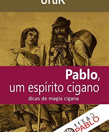 Capa do livro Pablo, um cigano na Umbanda